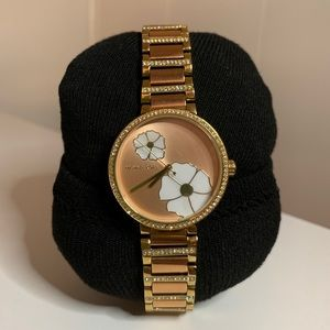 Michael Kors Rose Gold Courtney Watch
